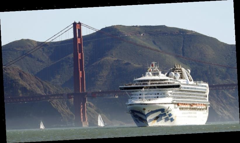 Cruise ship held off California coast for virus testing