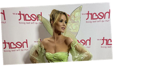 Amanda Holden demands attention as she wears tiny Tinker Bell costume for World Book Day
