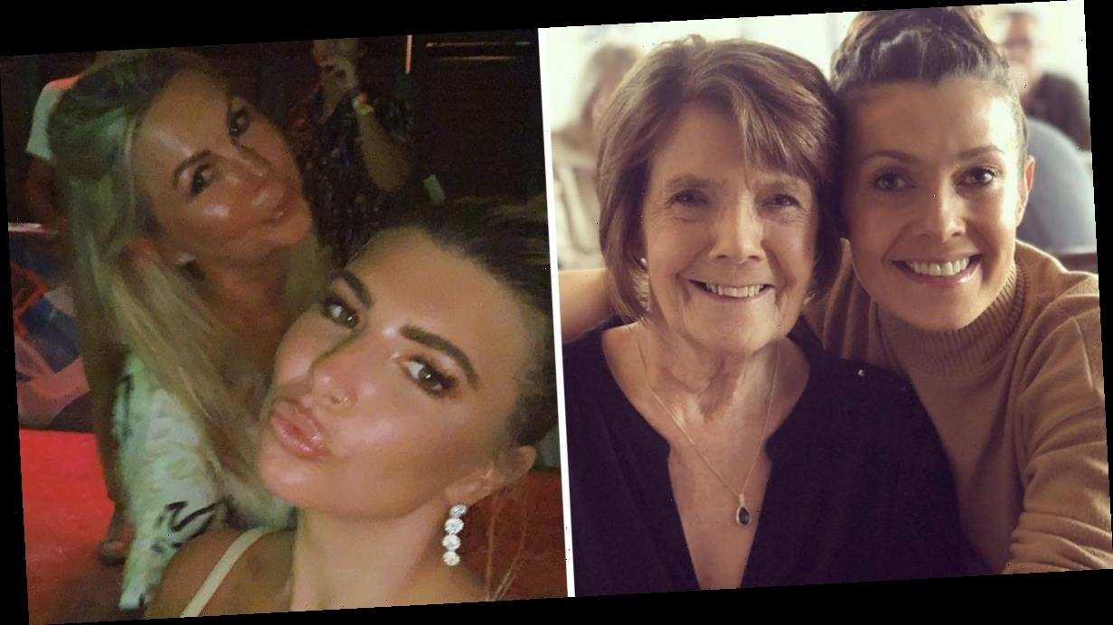 Olivia Buckland and Coronation Street's Kym Marsh praise their inspirational mums on International Women's Day