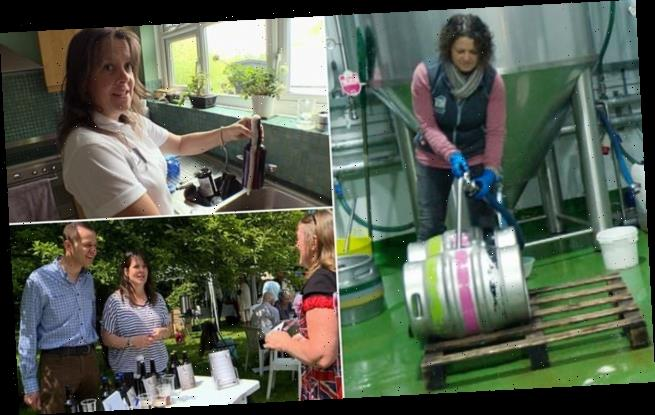 Couple leave the London rat race to start a brewery in Worcestershire