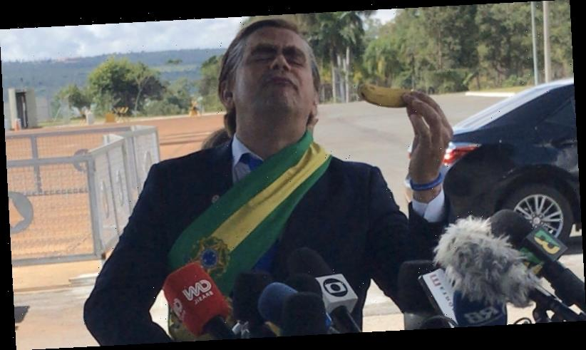 Fake Bolsonaro shows up to presser in place of Brazilian President