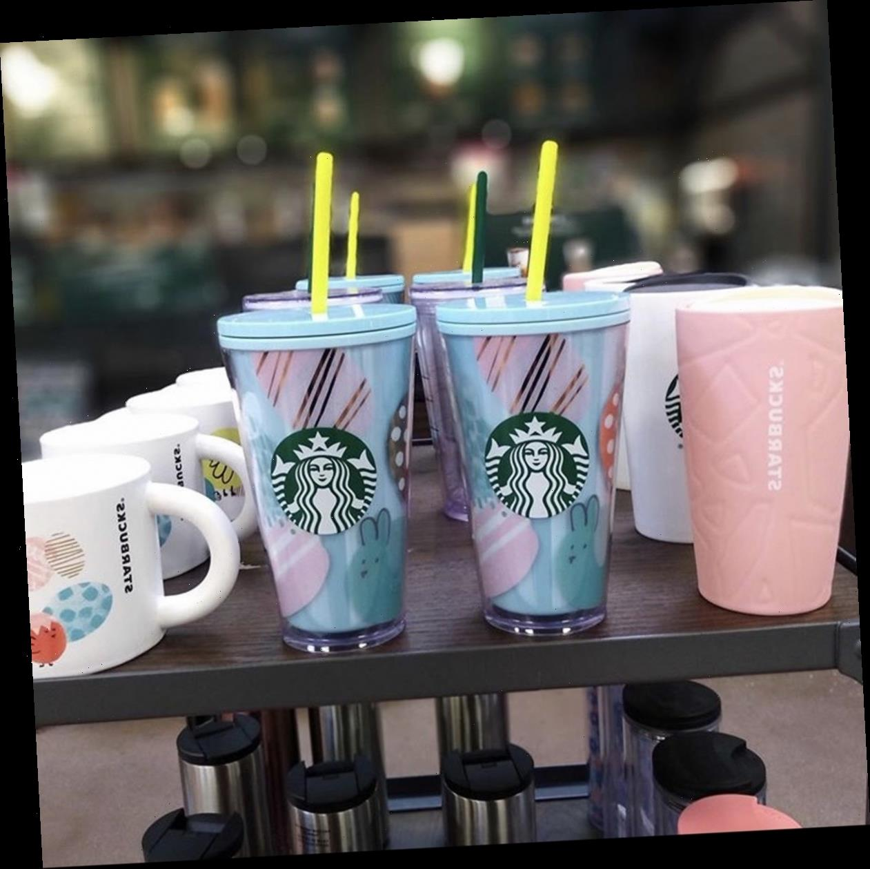 Starbucks' Spring 2020 Cold Cups & Tumblers Are A Pastel Dream