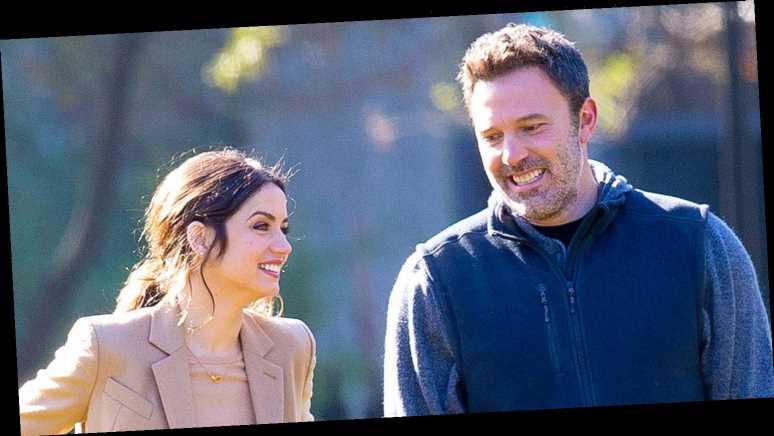 Ben Affleck, Ana de Armas All Laughs on Set Months Before Relationship News