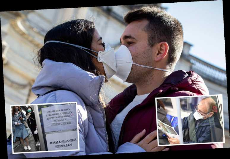 Brits warned to stop kissing to halt coronavirus spread as experts say it is 'wonderful but dangerous' – The Sun