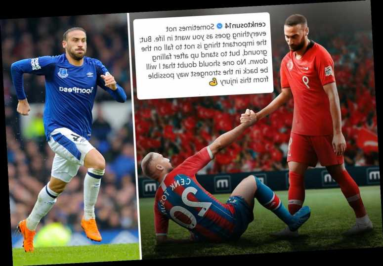 Cenk Tosun will have surgery next week on ACL injury – ending Crystal Palace loan spell – The Sun