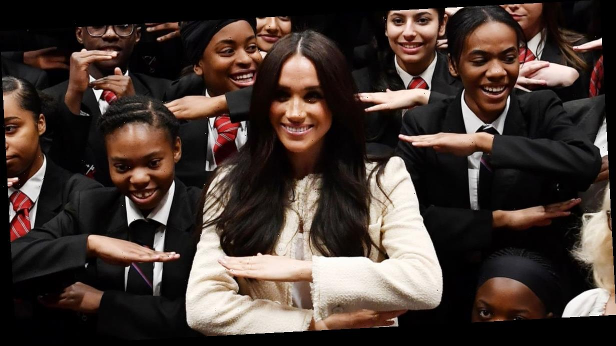 """Meghan Markle Encourages Students to """"Rally Together"""" in International Women's Day Speech"""