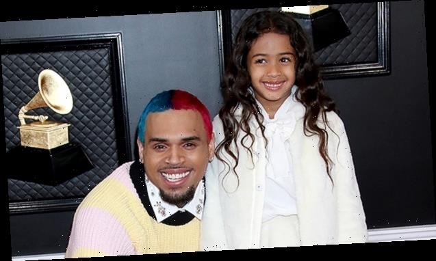 Chris Brown's Daughter Royalty, 5, Is So Adorable Playing With Her Dolls & Little Sister