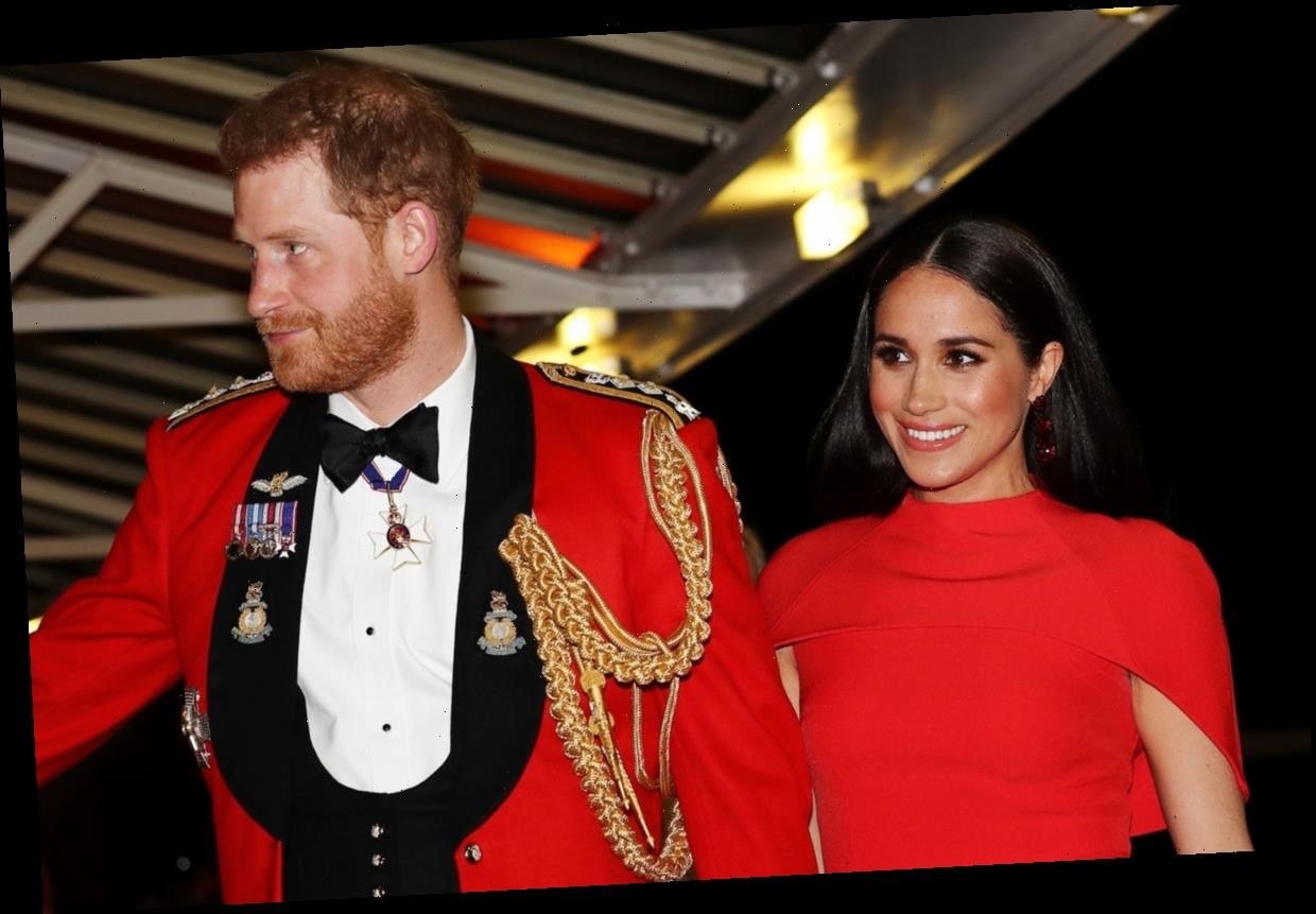 Photos From Meghan & Harry's Night Out At A Military Music Festival Are Stunning