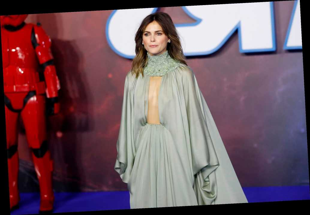 Keri Russell thinks walking the red carpet is 'just terrifying'