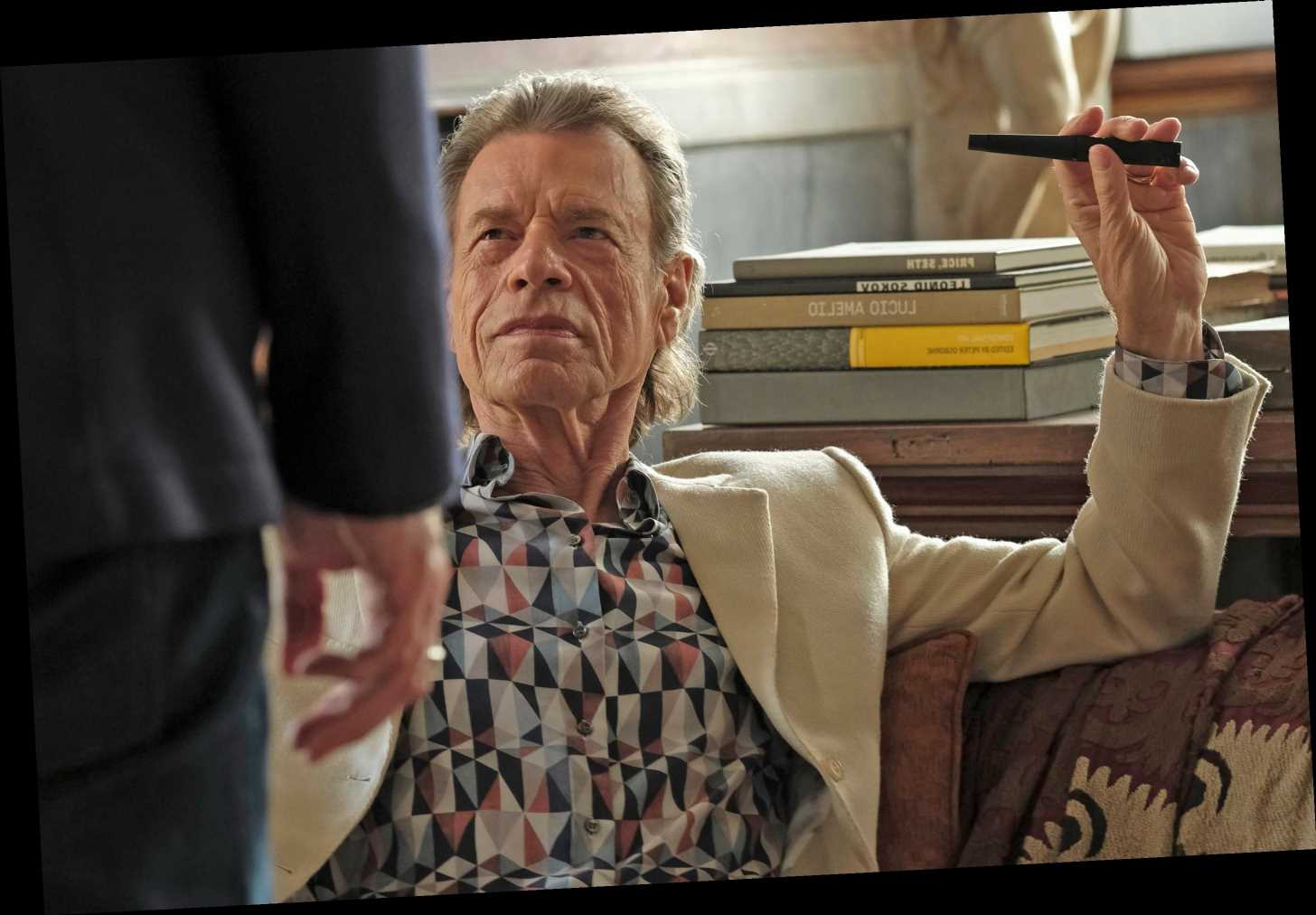 Mick Jagger is a movie star again in 'The Burnt Orange Heresy'
