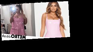 Woman orders bodycon dress online, gets one that looks 'like a pink bin bag'