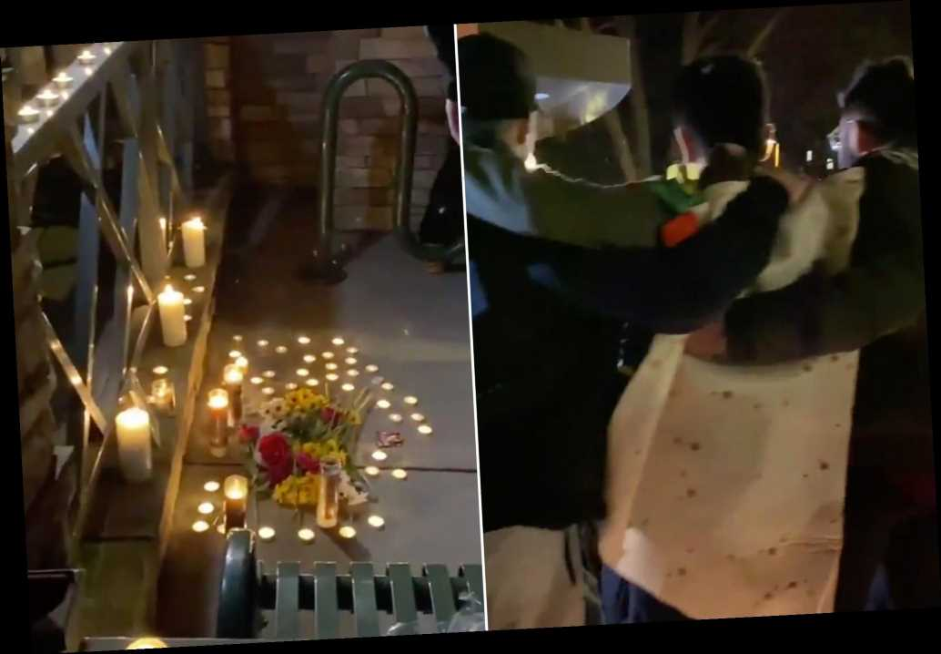 Penn State students hold candlelight vigil for shuttered Taco Bell