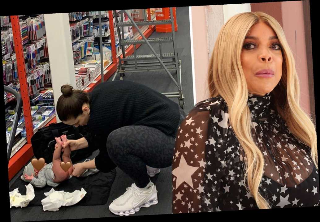 Wendy Williams blasts Ashley Graham for changing baby's diaper at Staples
