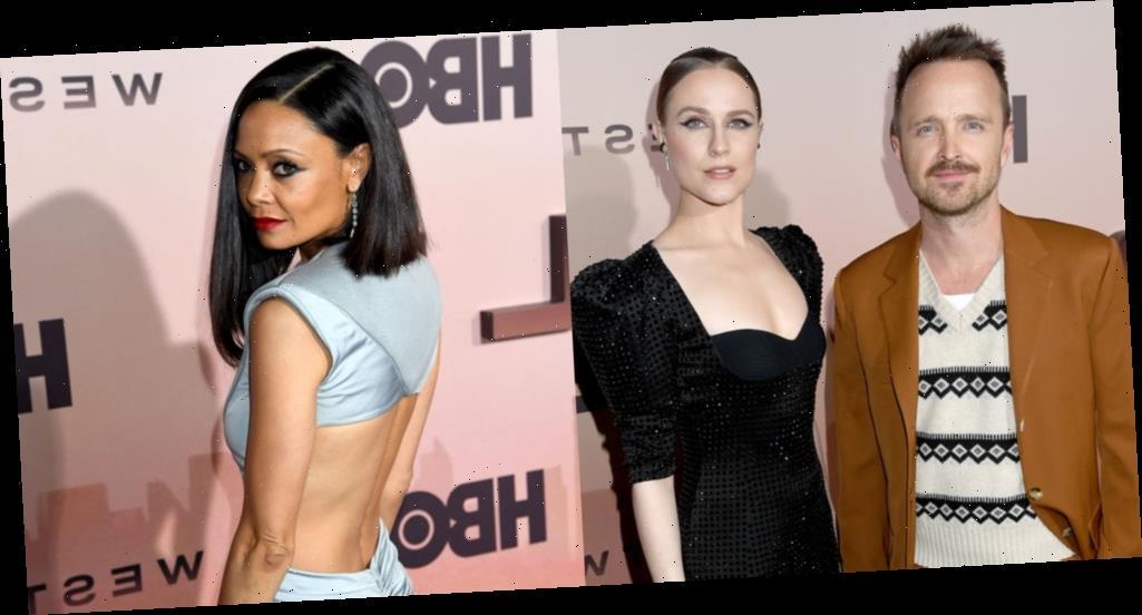 Aaron Paul & New 'Westworld' Stars Join Evan Rachel Wood, Thandie Newton & More at Season 3 Premiere!