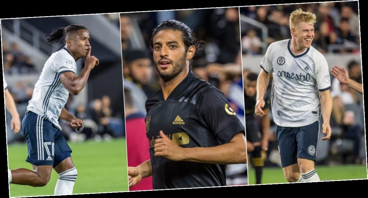 2 amazing free-kick goals, a beautiful Diego Rossi curler, and a last gasp save made for an instant MLS classic between Los Angeles FC and Philadelphia Union