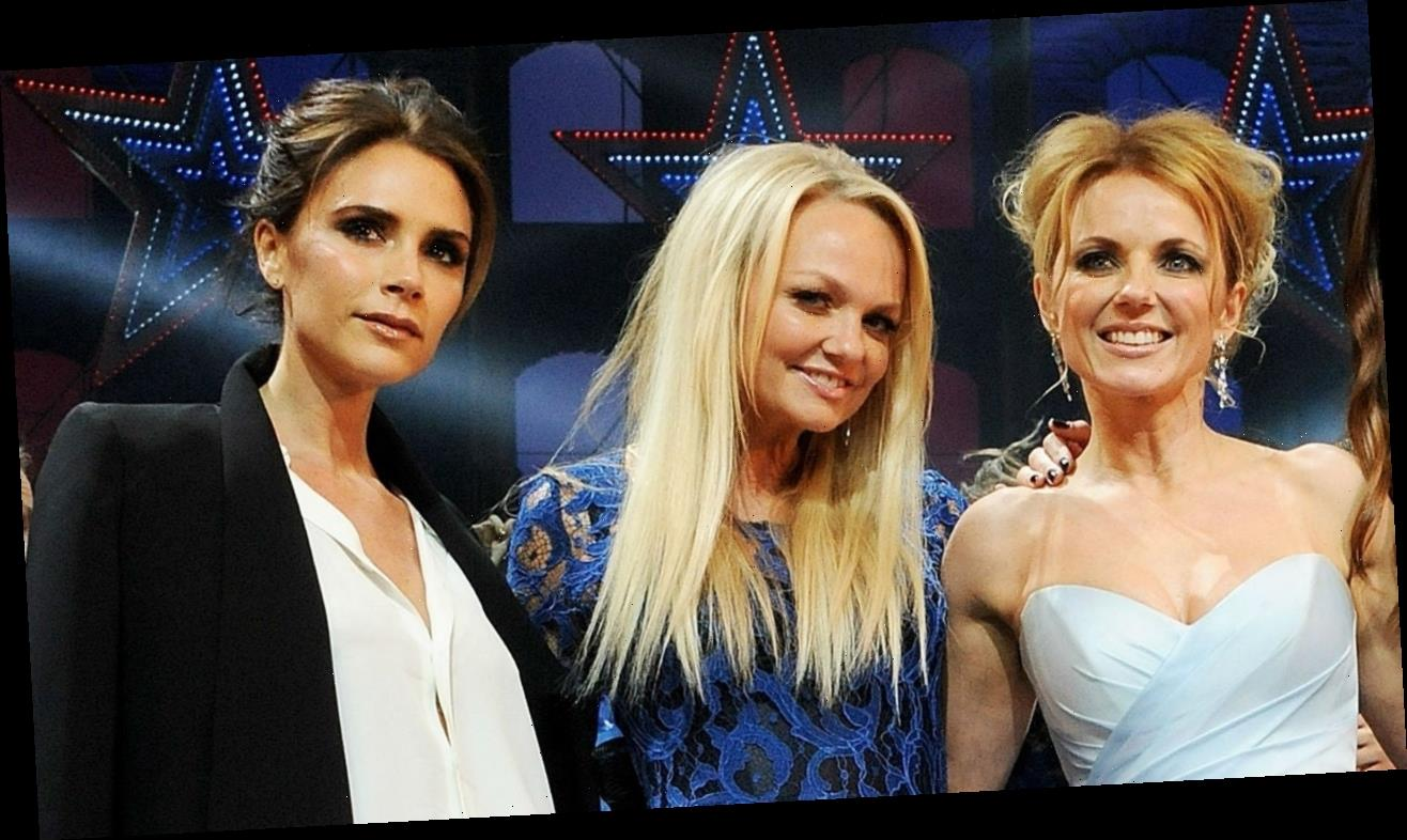 Victoria Beckham Has Mini Spice Girls Reunion With Geri and Emma: Pics