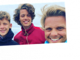 Jeff Brazier shares snaps from his road trip adventure with sons Bobby and Freddie