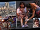 Brit journalist describes bloodsoaked mayhem of Beirut blast as victims died in front of his eyes