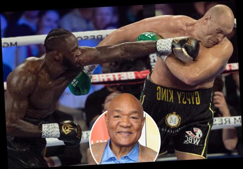 Deontay Wilder can easily beat Tyson Fury, but he doesn't punch as hard as Mike Tyson, claims legend George Foreman – The Sun