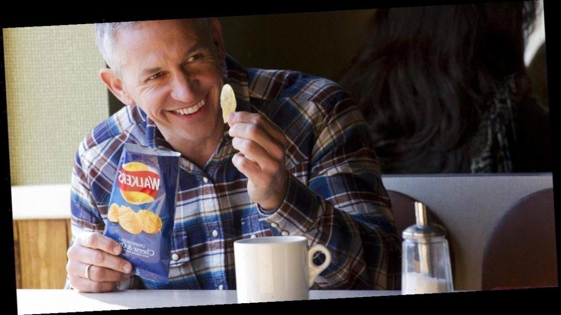 Gary Lineker 'signs £1.2m Walkers Crisps deal' after taking £400K BBC cut