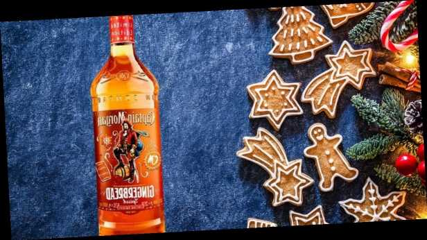 Asda relaunches Captain Morgan's gingerbread spiced rum in time for Christmas