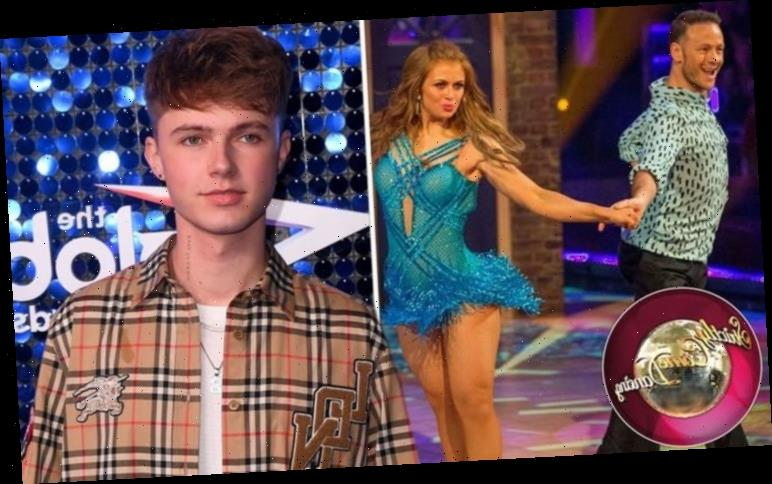 Maisie Smith and 'biggest rival' HRVY's messages revealed ahead of Strictly 'Very average'