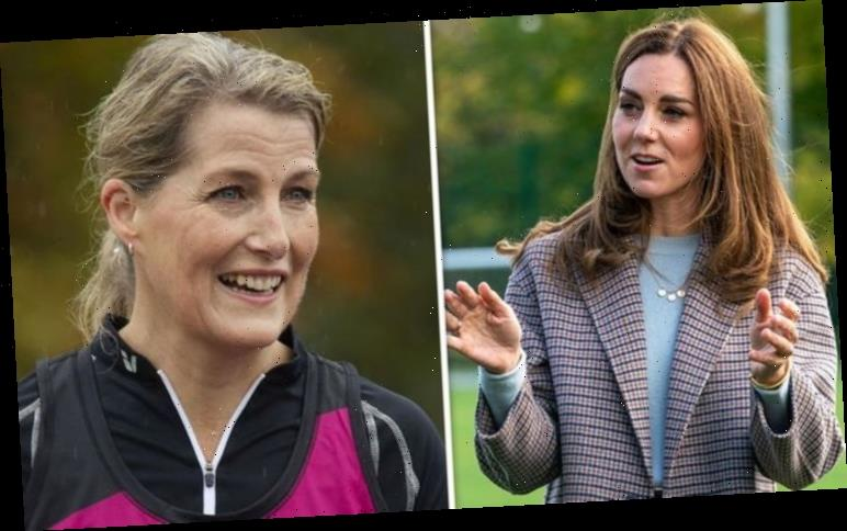 Sophie Wessex v Kate Middleton: Sophie's 'rule-keeper' body language contrasts Kate's