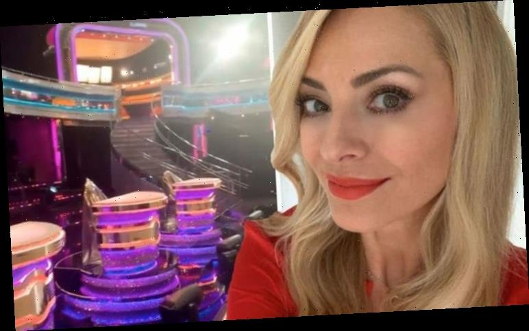 Tess Daly gives sneak peek at new look Strictly studio complete with judges' podiums