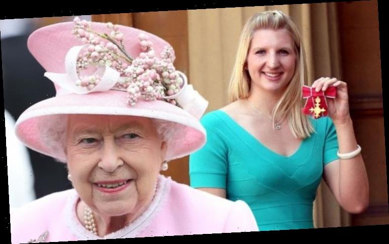 Rebecca Adlington addresses moment with Queen at Buckingham Palace: 'Why am I here?'