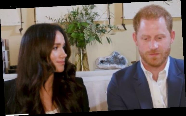 Meghan Markle is Prince Harry's 'cheerleader' in new video as Duchess 'more experienced'