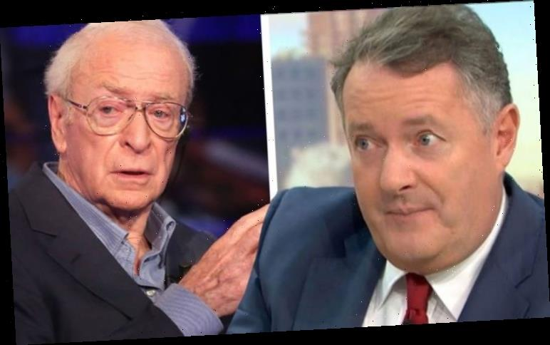 Piers Morgan: GMB host recalls being 'rejected' by Sir Michael Caine 'Defied my advances'