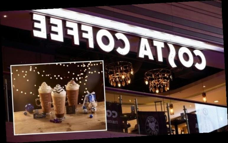 Costa Coffee launch Christmas drinks menu – including Quality Street festive hot chocolate