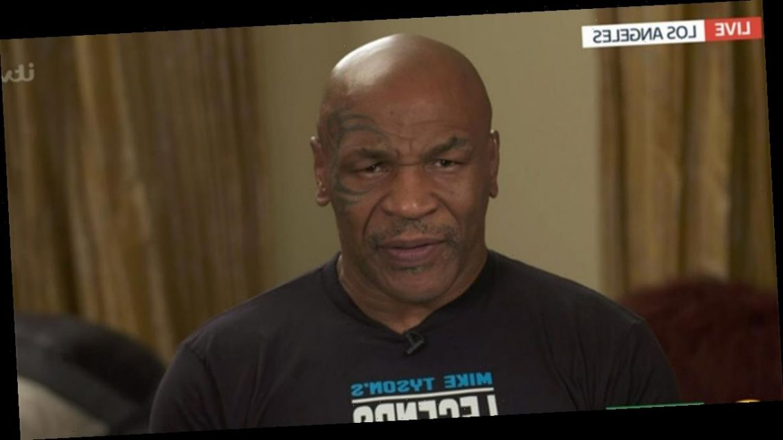 Mike Tyson's GMB 'awkward' interview sparks concern with viewers