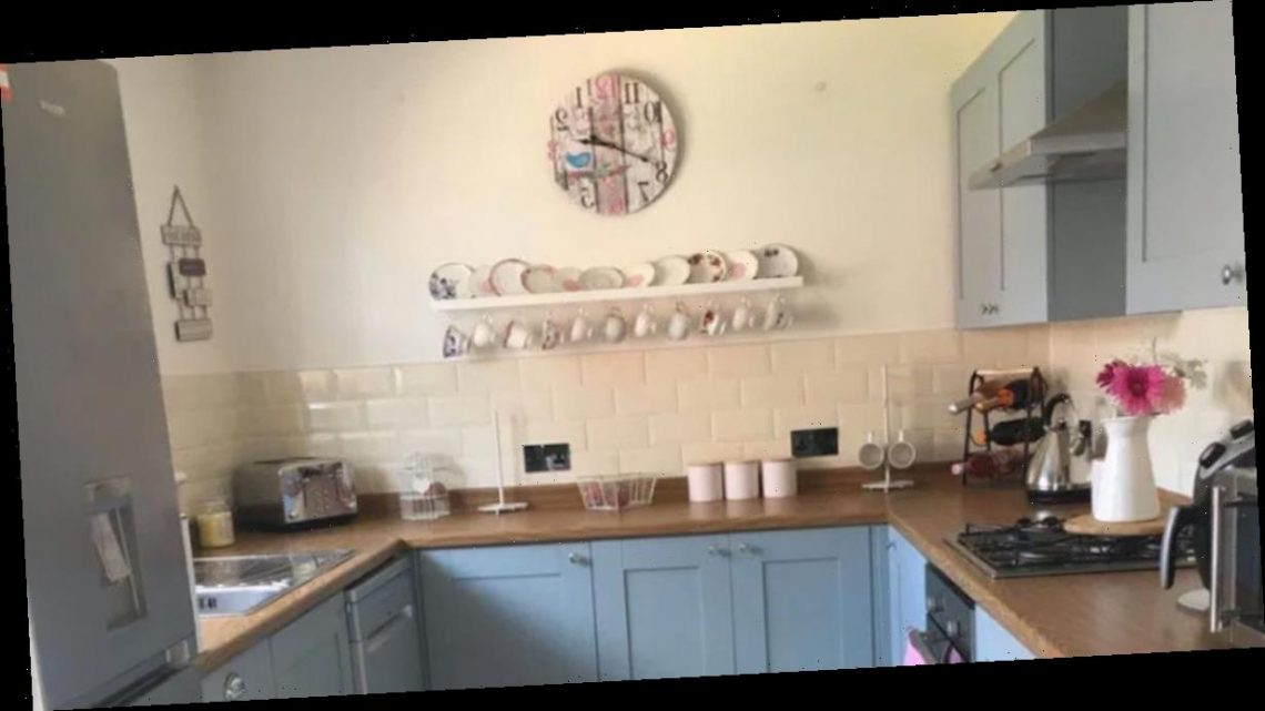 Mum quoted £5k for kitchen makeover does it herself for £144 with eBay buys