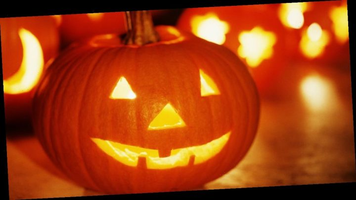 Britain's biggest family get into festive spirit with pumpkin carving night