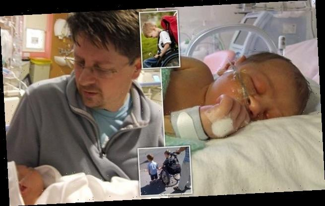 NHS trust admits responsibility after failings starved baby of oxygen