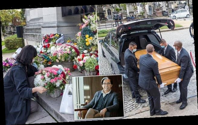 Funeral service is held for Japanese fashion designer Kenzo Takada