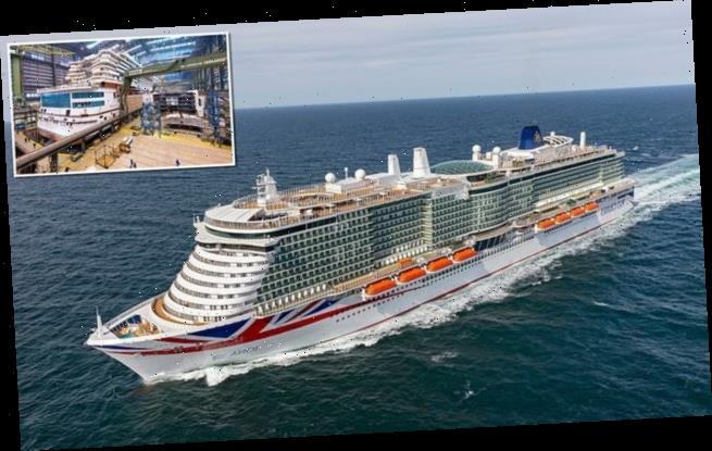 P&O takes delivery of its BIGGEST ever cruise-liner