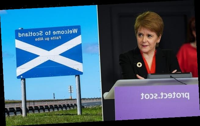 Nicola Sturgeon says she won't rule out bans on UK travel