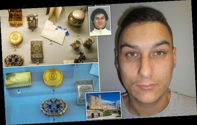 Career criminal jailed for £127,000 jewellery raid on castle