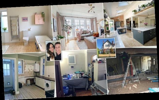 Couple transform 'the worst house on the best street'