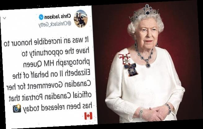 Canada releases never-before-seen picture of the Queen