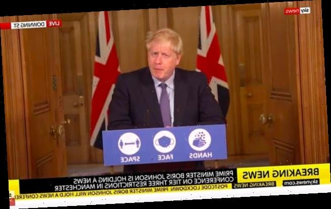 Boris Johnson plunges Greater Manchester into Tier Three lockdown