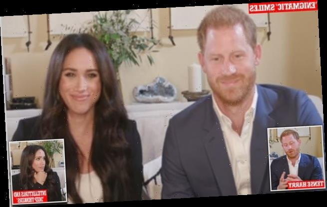 Prince Harry and Meghan Markle body language expert analyses Time 100
