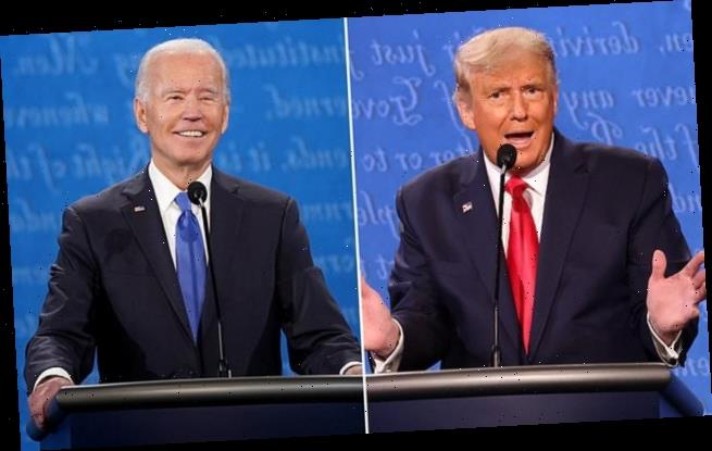 Biden laughs at Trump's claim that he's the 'LEAST racist'