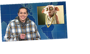 Pete Davidson Bashes J.K. Rowling's Transphobia On 'Weekend Update'