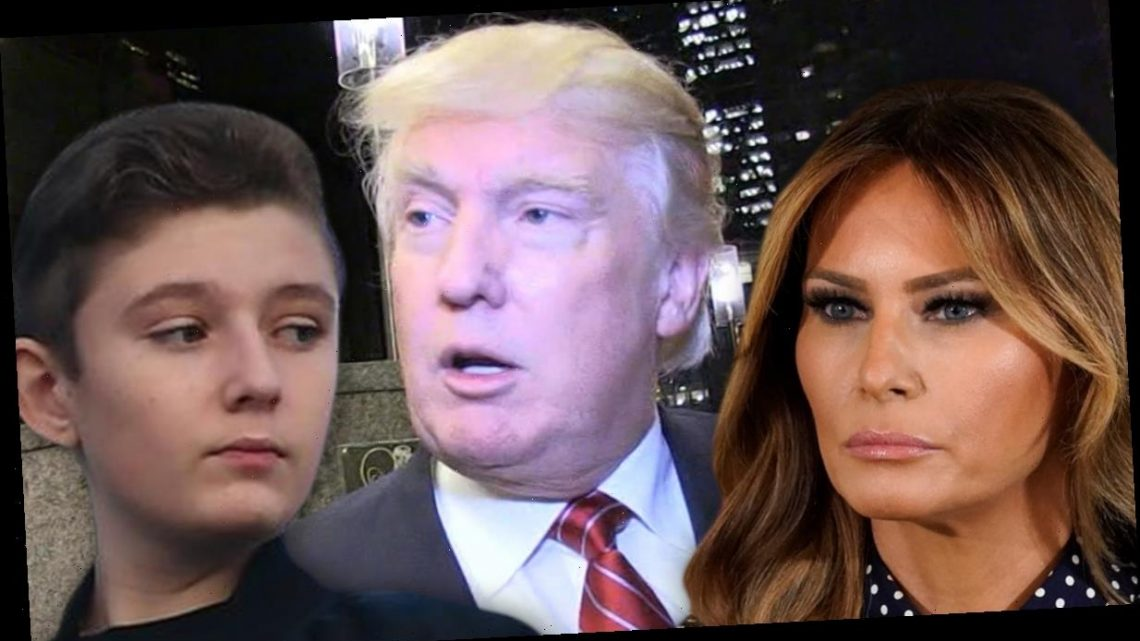Barron Trump Also Tested Positive for COVID with Melania & Donald