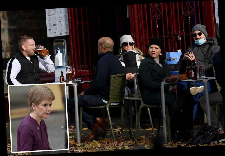 Nicola Sturgeon relaxes covid rules allowing some pubs & restaurants to serve alcohol indoors in Scotland from next week