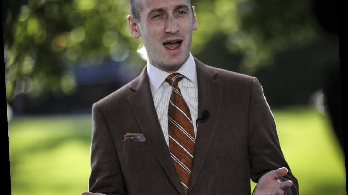 White House senior ghoul Stephen Miller tested positive for coronavirus