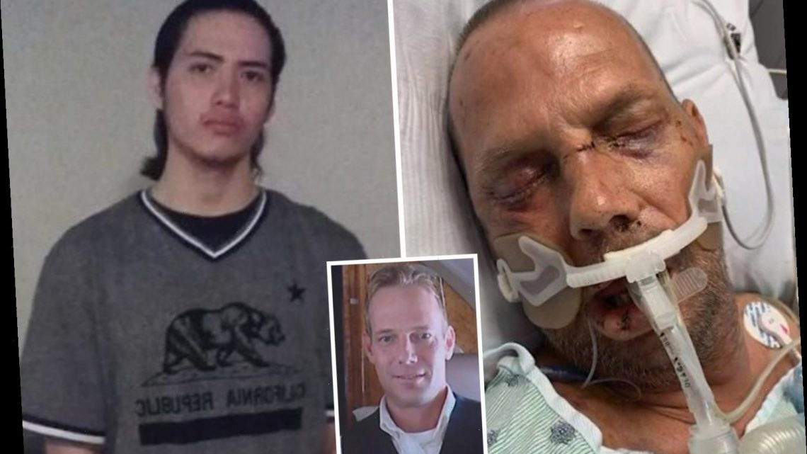 Brute, 20, 'randomly stomped man to death in park before uploading haunting video to Facebook'